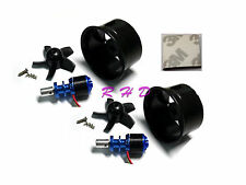 2Pack 64mm Duct Fan 4500KV RC Brushless Motor for EDF RC Jet Aircraft  3m tape