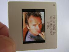 More details for original press photo slide negative - sting - 1990's - o - the police