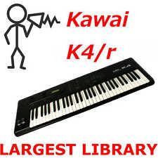 12,000 + Kawai K4 K4r Sonido Biblioteca - Programas Parches Sysex - D0wnload