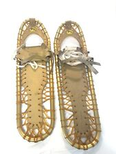 Vintage Sherpa Snow Claws Snow Shoes Snowshoes Great For Snow Or Decoration.