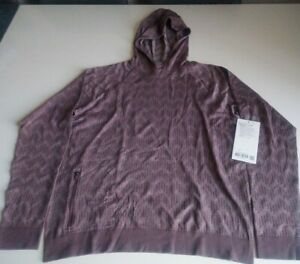 Lululemon Rest Less Hoodie(Relaxed) Size Large Color Warm Plum * NWT*