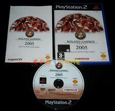ROLAND GARROS 2005 By Smash Court Tennis Ps2 Versione Italiana »»»»» COMPLETO