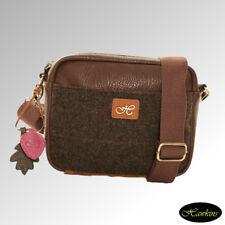 cb4af14ca76d Hawkins Bag Shoulder Country Classics Collection Tweed Dark Brown (LB43)