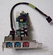HP rp5000 Powered USB AGP Board 398879-001 (MS-6993) 394197-001 (2x12v 1x24v)