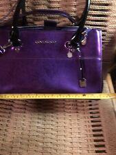 Younique Makeup Bag Metallic Purple Case Tote Bag Organizer