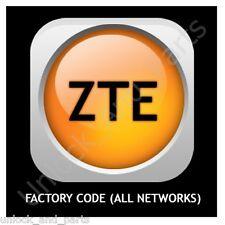 Unlock Code ZTE T-Mobile Vibe E200 UT-Starcom GPF 1134 U V850 U V880 V6 V9 V795