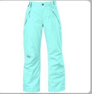 The North Face GIRLS Freedom Insulated Snow Ski Pants NWT Blue XS 6 $99.00