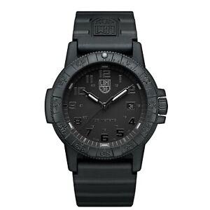 Luminox Leatherback SEA Turtle Giant Quartz Black Dial Men's Watch XS.0321.BO.L