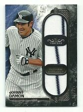 Johnny Damon New York Yankees 2016 Topps Tier One Game-Used Triple Relic 15/25
