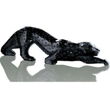 Black Crystal Lalique Art Glass