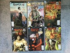 NORTH 40 FULL RUN ISSUES 1 - 6 WILDSTORM AARON WILLIAMS FIONA STAPLES 2009