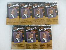 Lot of 7 THE BEST OF THE DEAN MARTIN VARIETY SHOW VHS Vols. 2-8 SEALED