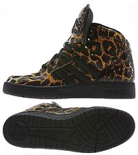 ADIDAS ORIGINALS JEREMY SCOTT INSTINCT HI LEOPARD MEN'S SHOES SIZE US 9.5 D65985