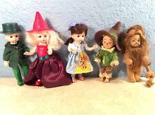 5 Halloween WIZARD OF OZ Happy Meal & Barbie Mattel Collectible Dolls Figures