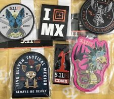 5.11 Tactical Mexico Exclusive Patch Set *RARE Limited*