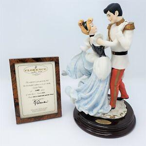 Giuseppe Armani Disney Cinderella & The Prince 107/C Signed LE 839/1000 Figurine