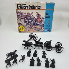 MPC American Civil War Artillery Batteries H0 Scale 1-6006 Open Box 28 Pieces