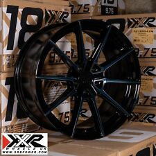 "XXR 567 18"" x 8.5J ET35 5x108 PHANTOM BLACK SET OF 4"