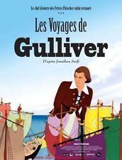 LES VOYAGES DE GULIVER Affiche Cinéma / Movie Poster Dave Fleischer