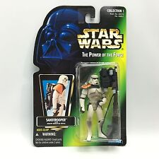 Star Wars POTF2/SANDTROOPER Action Figure/Kenner 1996/Green PHOTO Card MOC NEW!