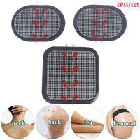 3pcs Replacement Gel Pads Massager Patch For Stimulator Trainer Muscles  ZB