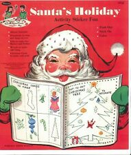Vnt 1950S Santa Holiday Christmas Hd Lasr Reprodctin Hi Qal~Top Selr Lowest Pr