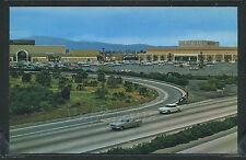 CA San Bernadino CHROME 1950's NEWEST MODERN SHOPPING CENTER May Co CARS County