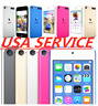 usa service new apple ipod touch 6th generation 64/128gb black/silver/blue