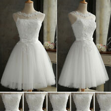Edel Lace Lovely Evening Formal Party Ball Gown Prom Bridesmaid Short Dress