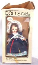 Vintage DOLLS OF ALL NATIONS No. 149 Canada (Hong Kong) Ginny Look Alike Doll