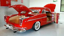 G LGB 1:24 Scale 1955 73302 Chrysler C300 Hemi V8 Motormax Diecast Model Car Red