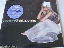 CHRISTINA AGUILERA: I TURN TO YOU (2-track Enhanced CD Single, 2000) NEW/SEALED!