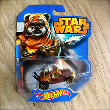 Disney STAR WARS Hot Wheels WICKET #14 diecast Mattel Dune Buggy Ewok car ROTJ