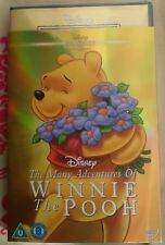 Many Adventures Of Winnie The Pooh DISNEY DVD With  O RING SLIPCOVER