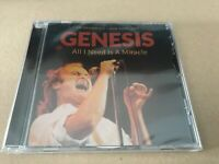 ALL I NEED IS A MIRACLE / NEW YORK 1988 GENESIS  Compact Disc rare live tracks