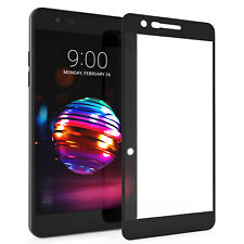 LG K10 2018 Screen Protector Best Tempered Glass Thin 100% Full Protection