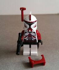 LEGO STAR WARS CUSTOM CLONE COMMANDER TROOPER FOX MINFIG MINIFIGURE