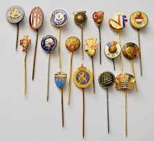 European Football Federation pins badge-Lot of 17