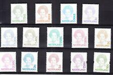 Nederland Beatrix 1991 compleet postfris, dus met de ongetande en zelfklevende