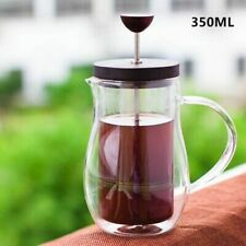 Coffee Pot Filter French Presses Kettle Double Wall Glass Heat Resisting Flasks