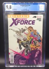 AMAZING UNCANNY X-FORCE ISSUE 19 MARVEL COMIC BOOK CGC 9.8 WHITE PAGES - 2012