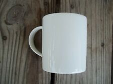 Plain Solid White Coffee Cup Mug Ready to Decorate Made in Korea