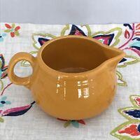 Fiestaware Marigold Small Creamer Fiesta Retired Creamer