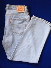Vintage Mens Levis 550 Relaxed Fit Light Blue Denim Jeans Red Tag 36W X 30L