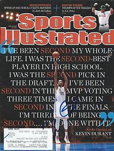 **GFA Sports Illustrated *KEVIN DURANT* Signed SI Magazine K2 COA**