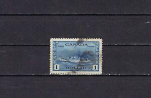 P3190 - CANADA 1943 - NAVE DA GUERRA - IL N. 218 USATO
