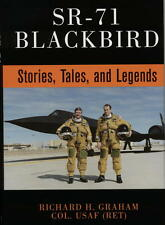 """SR-71 Blackbird"" personally autographed by Richard H. Graham"