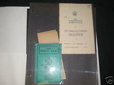 14th Hampstead England paper items 1916-36           J2