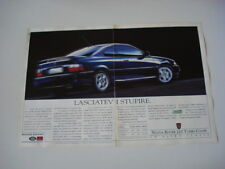 advertising Pubblicità 1993 ROVER 220 TURBO COUPE'