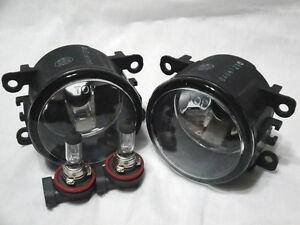 Glass Fog Driving Light Lamps w/2 Bulbs One Pair Fit 2008-2012 Focus Navigator